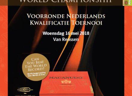 Voorronde Cigar Smoking World Championship 2018