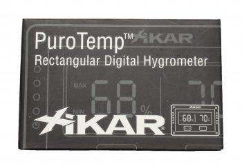 Xikar igitale hygrometer rechthoekig 2